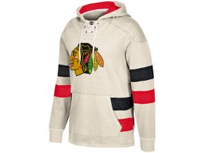 Mikina Chicago Blackhawks 2017 CCM Jersey Pullover Hoodie White