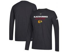 Tričko Chicago Blackhawks Authentic Ice Climalite Ultimate L/S