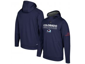 Mikina Colorado Avalanche Authentic Pro Player Pullover Hoodie