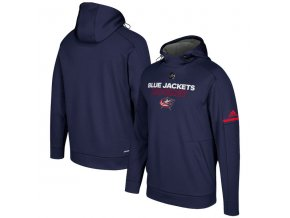 Mikina Columbus Blue Jackets Authentic Pro Player Pullover Hoodie