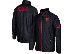 Bunda Calgary Flames Authentic Rink Full-Zip Jacket