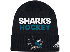 Zimní Čepice San Jose Sharks Locker Room 2017
