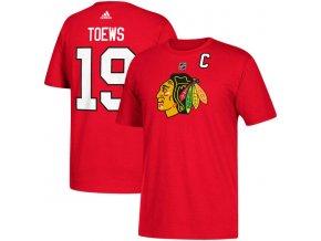 Tričko #19 Jonathan Toews Chicago Blackhawks