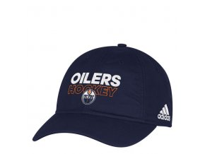 Kšiltovka Edmonton Oilers On-Ice Adjustable