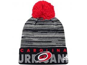Kulich Carolina Hurricanes Off Ice Cuffed Pom Knit