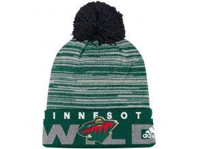 Kulich Minnesota Wild Off Ice Cuffed Pom Knit