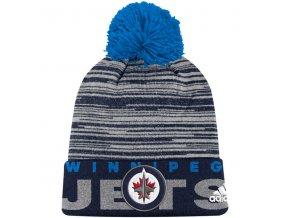 Kulich Winnipeg Jets Off Ice Cuffed Pom Knit