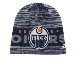 Zimní Čepice Edmonton Oilers On-Ice Knit Hat
