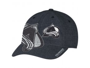 Kšiltovka Colorado Avalanche Travel & Training Flex Hat