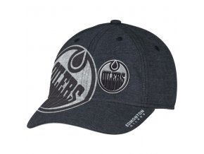 Kšiltovka Edmonton Oilers Travel & Training Flex Hat