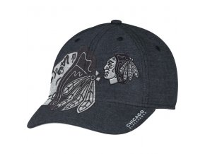Kšiltovka Chicago Blackhawks Travel & Training Flex Hat