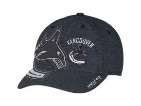 Kšiltovka Vancouver Canucks Travel & Training Flex Hat