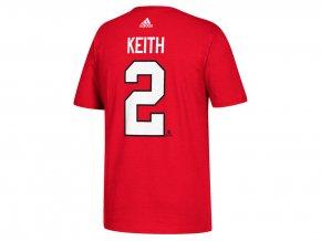 Tričko #2 Duncan Keith Chicago Blackhawks