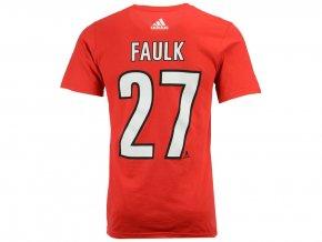 Tričko #27 Justin Faulk Carolina Hurricanes