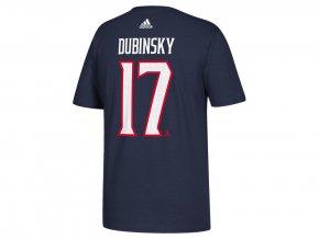 Tričko #17 Brandon Dubinsky Columbus Blue Jackets