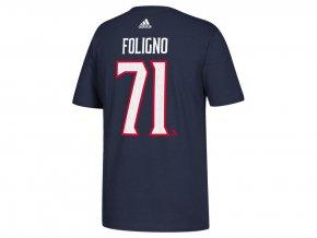 Tričko #71 Nick Foligno Columbus Blue Jackets