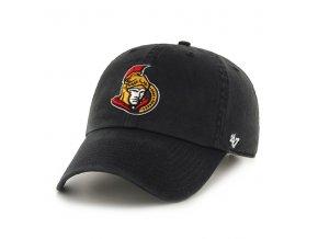 Kšiltovka Ottawa Senators 47 Clean Up