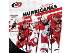 Kalendář Carolina Hurricanes 2018 Team Wall