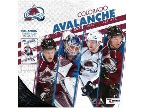 Kalendář Colorado Avalanche 2018 Team Wall