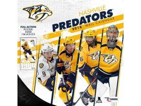 Kalendář Nashville Predators 2018 Team Wall