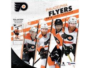 Kalendář Philadelphia Flyers 2018 Team Wall