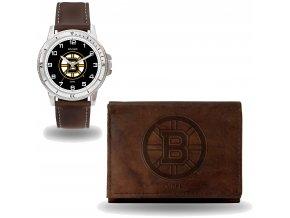 Set hodinky a peněženka  Boston Bruins NHL Sparo