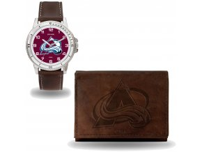 Set hodinky a peněženka  Colorado Avalanche NHL Sparo