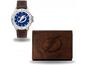 Set hodinky a peněženka  Tampa Bay Lightning NHL Sparo