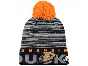 Dětská zimní čepice Anaheim Ducks NHL Team Logo Cuffed