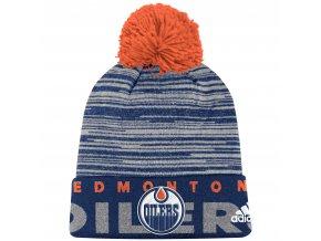 Dětská zimní čepice  Edmonton Oilers NHL Team Logo Cuffed