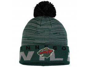 Dětská zimní čepice  Minnesota Wild NHL Team Logo Cuffed