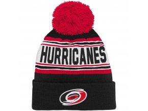Dětská zimní čepice  Carolina Hurricanes NHL Wordmark Cuffed