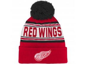 Dětská zimní čepice  Detroit Red Wings NHL Wordmark Cuffed