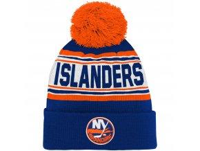 Dětská zimní čepice  New York Islanders NHL Wordmark Cuffed