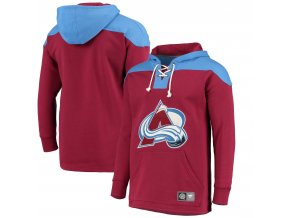 Mikina  Colorado Avalanche NHL Breakaway Lace Up