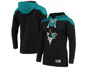 Mikina  San Jose Sharks NHL Breakaway Lace Up