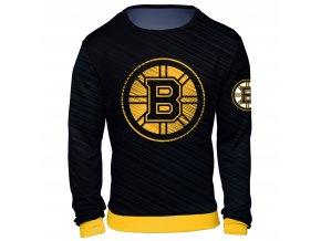 Mikina  Boston Bruins NHL Static Rain