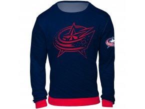 Mikina  Columbus Blue Jackets NHL Static Rain