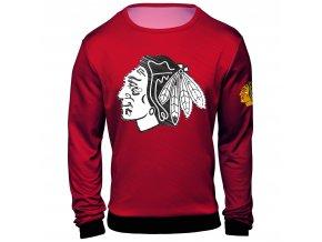 Mikina  Chicago Blackhawks NHL Static Rain