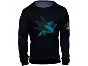 Mikina  San Jose Sharks NHL Static Rain