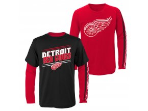 Set dětských triček  Detroit Red Wings NHL First Line