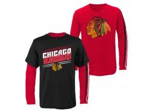 Set dětských triček  Chicago Blackhawks NHL First Line