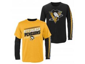 Set dětských triček  Pittsburgh Penguins NHL First Line