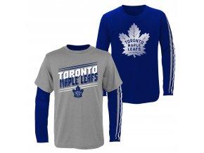 Set dětských triček  Toronto Maple Leafs NHL First Line