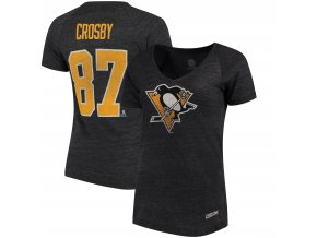 Dámské Tričko #87 Sidney Crosby Pittsburgh Penguins CCM