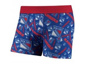 Pánské boxerky  New York Rangers NHL Repeat Logo Compression