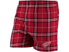 Pánské trenky  Detroit Red Wings NHL Huddle Boxer Shorts