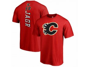 Tričko Jaromir Jagr #68 Calgary Flames Backer Name & Number