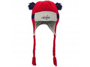 Beranice zimní čepice  Washington Capitals NHL Stripe Ears Trooper