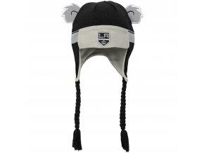 Beranice zimní čepice  Los Angeles Kings NHL Stripe Ears Trooper